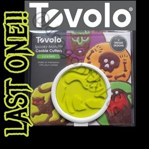 NIB Tovolo Spooky Monster Cookie Cutter/Press